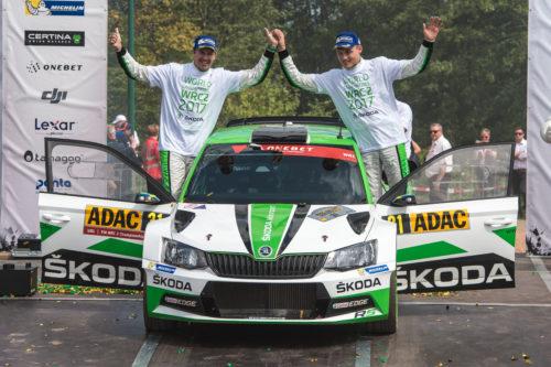 SKODA MOTORSPORT Sacre champion du Monde - Rallye dAllemagne 2017  1-jpg