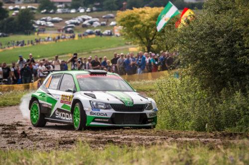 SKODA MOTORSPORT Sacre champion du Monde - Rallye dAllemagne 2017  5-jpg