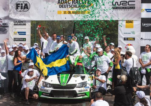 SKODA MOTORSPORT Sacre champion du Monde - Rallye dAllemagne 2017  3-jpg