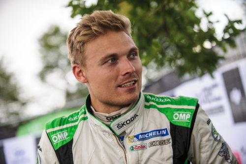 Pontus TIEDEMAND - SKODA MOTORSPORT - champion du Monde WRC 2 2017 - Rallye dAllemagne-jpg