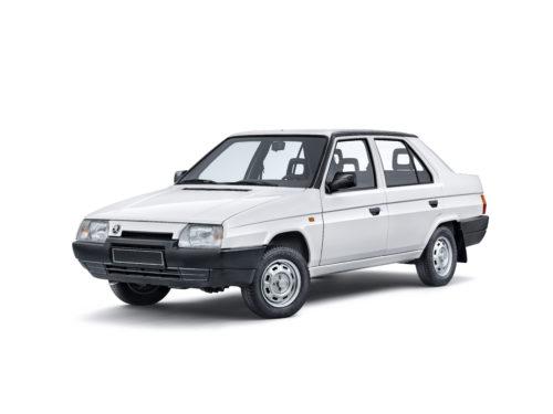SKODA FAVORIT - prototype 4 portes - 1986 1-jpg