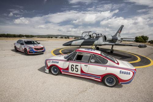 SKODA OCTAVIA RS 245 stickee aux couleurs de la 130 RS de 1981  130 RS de 1981 et Albaros - 5-jpg