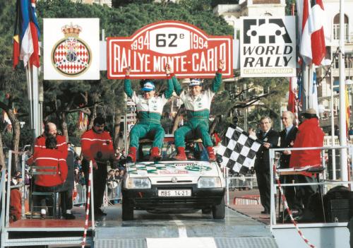 SKODA FAVORIT - Rallye Monte Carlo -1994-png