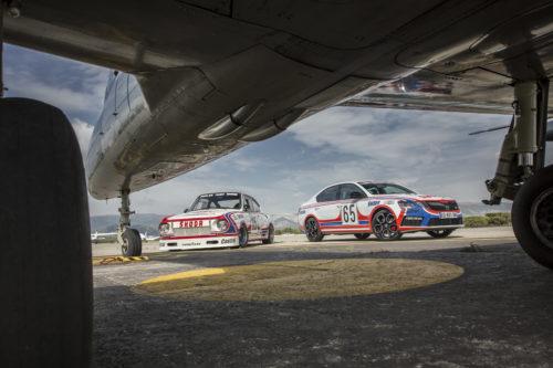 SKODA OCTAVIA RS 245 stickee aux couleurs de la 130 RS de 1981  130 RS de 1981 et Albaros - 6-jpg