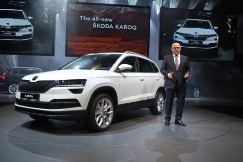 Bernhard MAIER - Directeur de SKODA AUTO - Présentation KAROQ