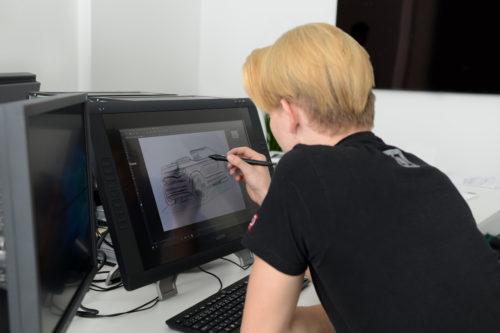 AZUBI CAR 2018 -  sketch du projet 3-jpg